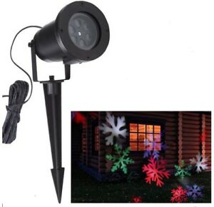 Moving Outdoor LED Christmas Projector Lights