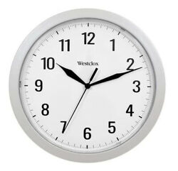 Westclox Quartz 9.75 Wall Clock with Hidden Storage 32255