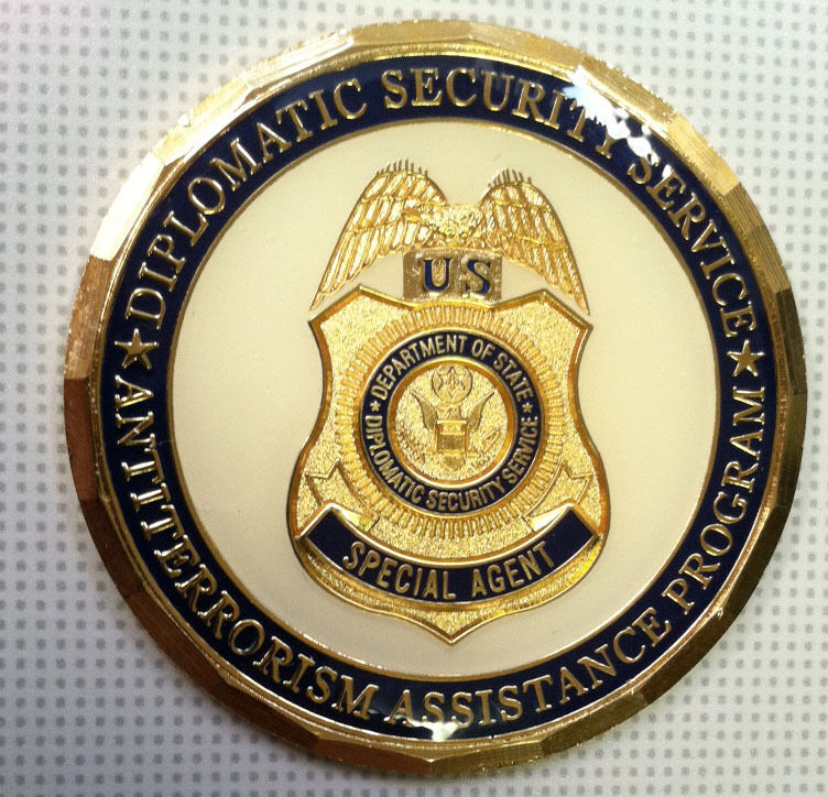 Diplomatic Security Service Coin Antiterrorism Assistance Program Challenge coin