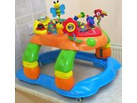 Red Kite Baby-Go-Round Entertainer 3-in-1 Baby Walker & Rocker with Lights & Sounds