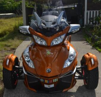 2014 Can Am Spyder RT S SE6 + Trailer Hillcrest Logan Area Preview