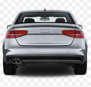Audi A4 2014 exhasut starting from the catalytic converter