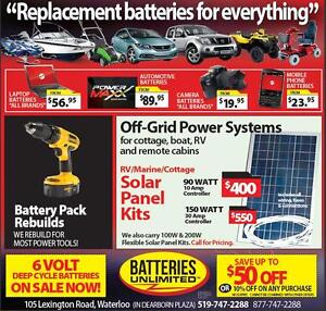 SOLAR PANELS for your RV...GOING CAMPING soon ? Save $$ Kitchener / Waterloo Kitchener Area image 1