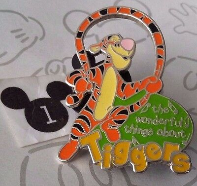 The Wonderful Thing About Tiggers Magical Musical Moments Tigger Disney Pin