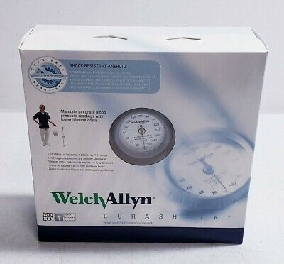 Welch Allyn Ds44-12 Durashock Pocket Aneroid Sphygmomanometer Handheld Gauge