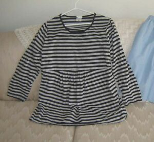 Maternity Top, Capris, New Nursing Nightgown/Housecoat - XL, 1X