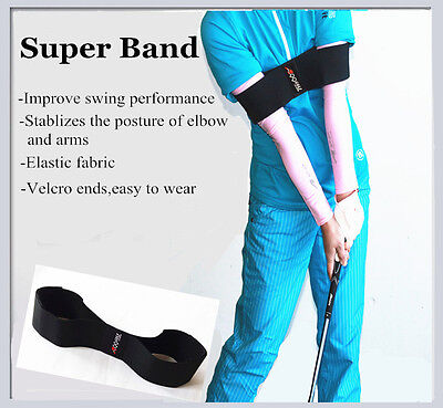- A99 Golf Adjustable swing arm band w. hook-and-loop binding - Swing trainer