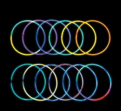 Mega Value Glow In The Dark Necklace Assortment 250 Pieces Multi-color ValuePack