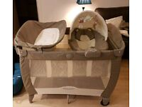 Graco Contour Electra napper/travel cot/play pen