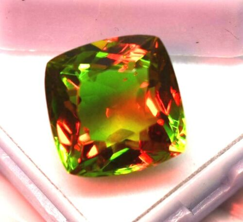 Natural Alexandrite Loose Gemstone 8-10 CT Cushion Cut Color Changing  Certified