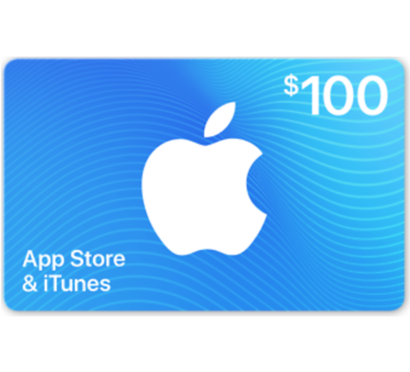App Store & iTunes Gift Cards - $25 $50 or $100 (Email-Delivery) $100 code (email delivery)