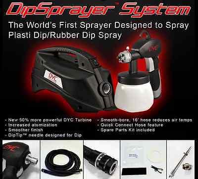 DYC Dipsprayer System Gun Plasti Dip Rubber Coating By Earlex Sprayer Gallon Dip