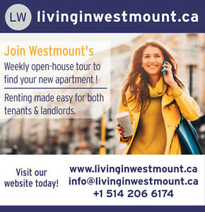 www.LivinginWestmount.ca - Westmount - Studio, 1 to 4 bedrooms