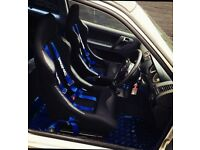Bucket seats and harness, black alloys for 6n2 polo
