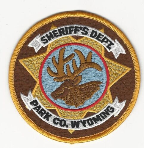 Park County Sheriff State Wyoming WY NEAT