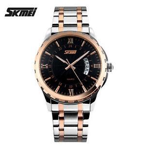 SKMEI-Reloj-Watch-acero-bicolor-analogico-dia