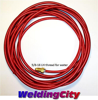 Weldingcity Tig Welding Water Hose 41v32 25-ft For 350amp Torch 18 Us Seller