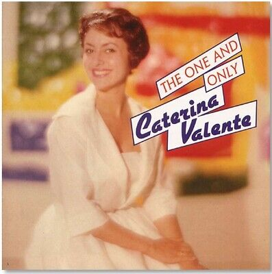 Pop CD Sung In German - Caterina Valente - The One And Only - Import - NEW