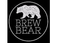 Want to be a barista at Brew Bear?