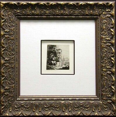 "Rembrandt ""Christ and the Woman of Samaria""custom Framed &COA MAKE AN OFFER L@@K"