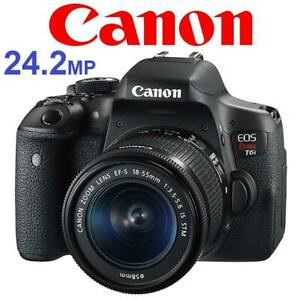 NEW* CANON REBEL T6i CAMERA KIT DS126571 242858650 24.2MP 18-55mm EF-S IS STM F3.5-5.6 LENS WIFI PHOTOGRAPHY