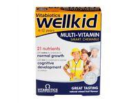 Vitabiotics Wellkid Multi-Vitamin Chewables 30 Tablets *NEW*