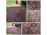 Carpet for sale - bargain - thick & traditional