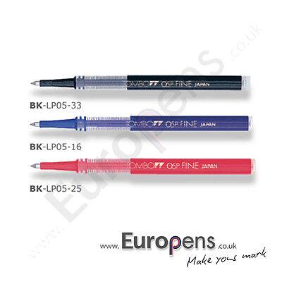 Tombow Refill Rollerball Pen  (05PFine & 07PMedium) to fit EGG PEN & OBJECT