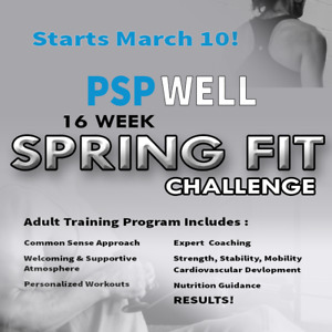 PSP WELL Spring Fit Challenge - 16 Weeks