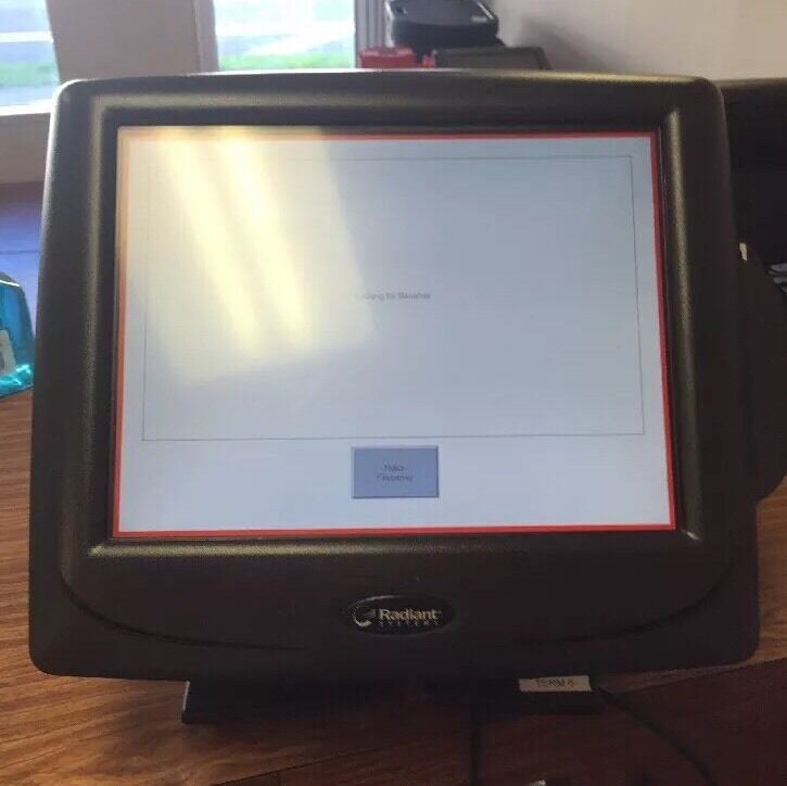 Radiant Systems P1520-0114 Pos Cash Terminal With Cć Slot