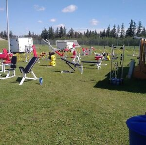Complete commercial gym and trailer