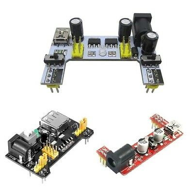 Solderless Mb102 Breadboard Power Supply Mini Usb 3.3v 5v Dc 7-12v For Arduino