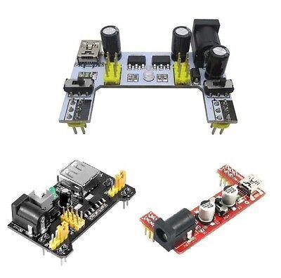 Solderless Mb102 Breadboard Power Supply Mini Usb 3.3v 5v Dc 7-12v For Arduino