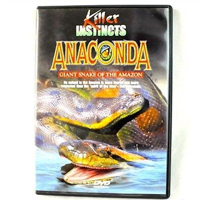 Killer Instincts Anaconda Giant Snake Of The Amazon Dvd Movie Original Release