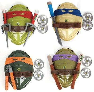 Teenage Mutant Ninja Turtles Boys Costume (Teenage Mutant Ninja Turtles TMNT Armor Shell Weapons Mask Cosplay Costume)