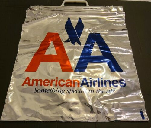 AA American Airlines Bags 1990s Lot of 10 Plastic Something Special In The Air