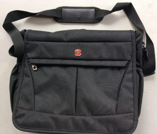 SWISSGEAR by Wenger 16 Laptop Messenger Bag W Organizer Padded ...