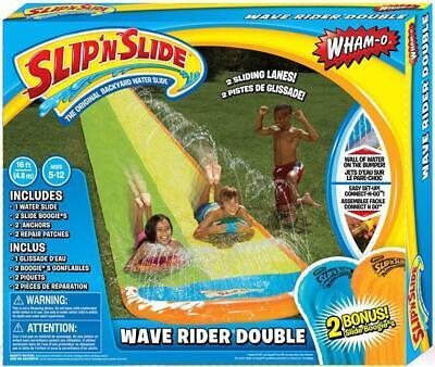 Wham-O Slip N Slide Wave Rider Double Boogie Water Slide