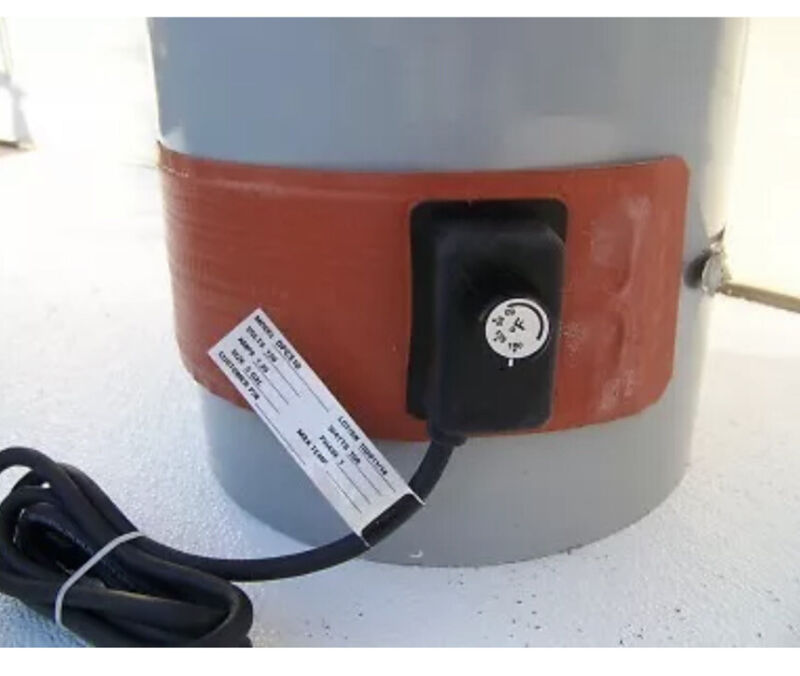 Briskheat Drum Heater Poly 5 Gal. Heavy Duty 150 Watt/ WVO_BIODIESEL