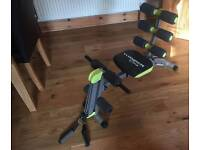 Wondetcore 2 - Ab Trainer with built in twist seat, rowing machine and rower
