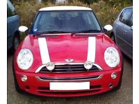 BARGAIN MINI ONE 1.6 RED '06 PLATE! LONG MOT! GREAT CONDITION!