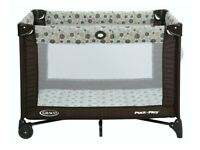 Graco Pack n Play, Travel Cot and matress in excellent condition