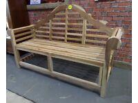 NEW Marlboro' Garden Bench Teak Bench - Delivery