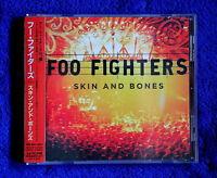 Foo Fighters Skin And Bones Cd Japan 15 Tracks Promo Sticker Nirvana Pearl Jam -  - ebay.it