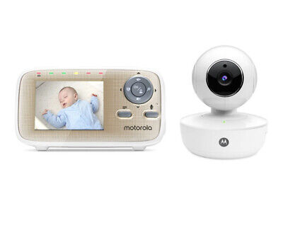 Motorola MBP669CONNECT 2.8 Wi-Fi Video Baby Monitor With Remote Pan And Tilt Uk