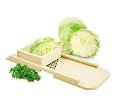 Krauthobel in 5 Größen Gemüsehobel Gemüseschneider mit 2/3/4 Messer Gurkenhobel ()