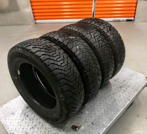 Set of four 175/70/14 (185/70/14) Goodyear Nordic winter tires