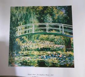 X6 Monet prints
