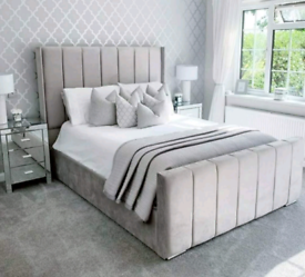 ⭐NEW STUNNING WING BACK BEDS ON SALE. ANY COLOURS DOUBLE KING SUPERKNG
