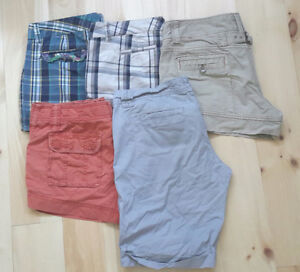 Womens name brand shorts size 10